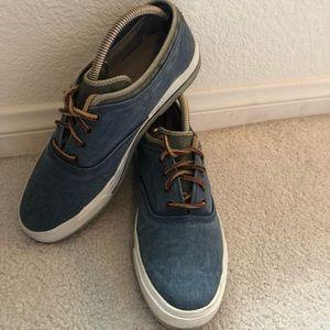 Florsheim Canvas Men's Sneakers Size 10m
